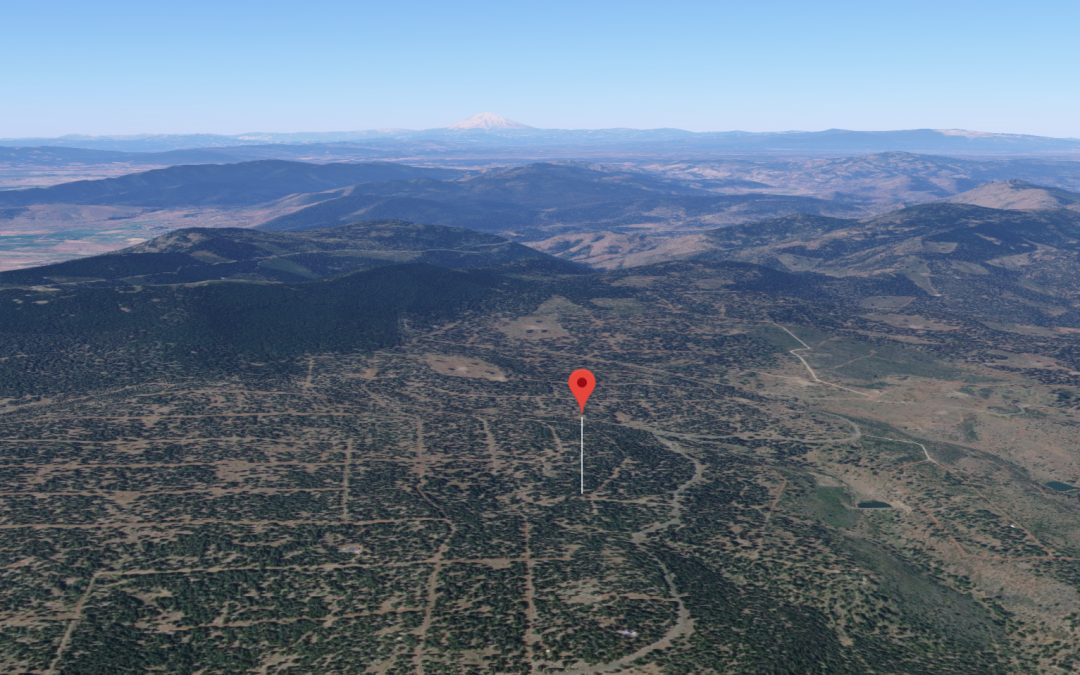 Mountain Land for Sale! 0.90 Acres in Northern California with Electricity!